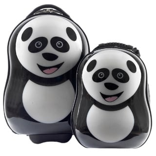 Cuties & Pals Children's Cheri Panda Hardside Luggage Set