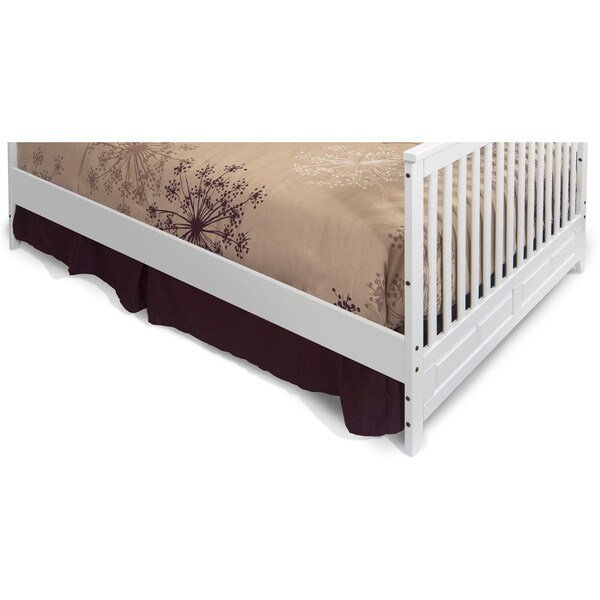 Child Craft Twin Size Bed Rails in Matte White