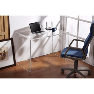 Clear Acrylic Writing Desk