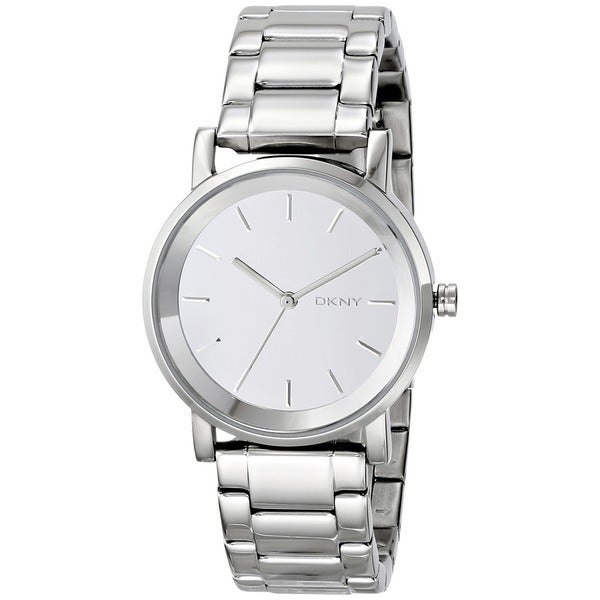 Womens Watches Silver Tone Round Silver Tone Watch