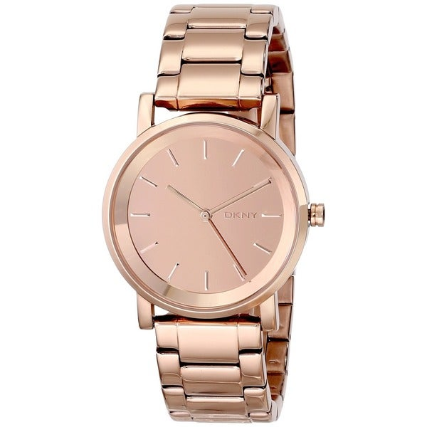 DKNY Women's NY2179 Soho Rose Gold Tone Watch