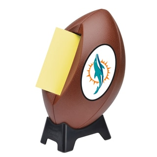 Miami Dolphins Post-it Notes Football Dispenser