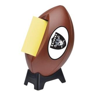 Oakland Raiders Post-it Notes Football Dispenser