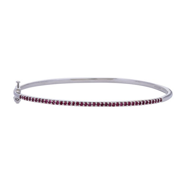 Genuine African Ruby Bangle