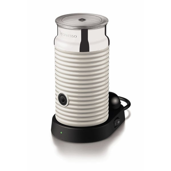 Nespresso White Aeroccino and Milk Frother