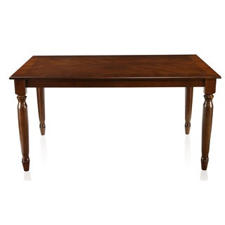 Furniture of America Rookster Dark Oak Dining Table