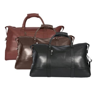 Canyon Cabin 22-inch Lightweight Leather Carry-on Duffel
