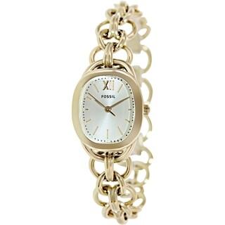 Fossil Women's ES3512 'Sculptor' Goldtone Stainless Steel Watch