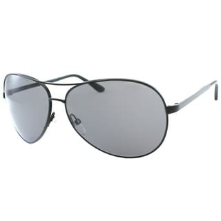 Tom Ford Unisex TF35 Charles 02D Black Aviator Metal Polarized Fashion Sunglasses