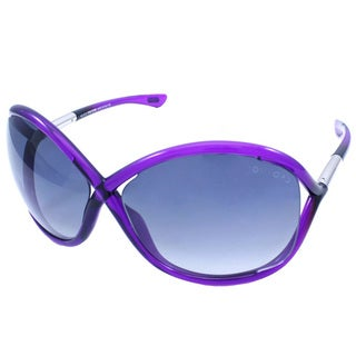 Tom Ford Womens TF9 Whitney 75B Shiny Fuchsia Plastic Fashion Sunglasses