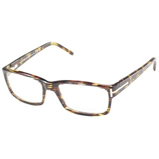 Tom Ford Men's TF5013 FT5013 056 Havana Rectangle Plastic Eyeglasses