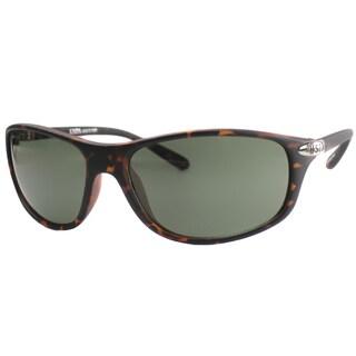 US Polo Association Unisex Cheyenne Matte Tortoise Plastic Sport Sunglasses