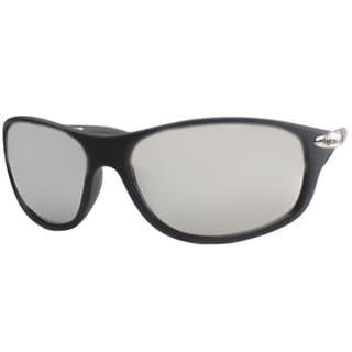 US Polo Association Unisex Cheyenne Matte Black Plastic Sport Sunglasses