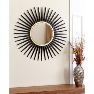 ABBYSON LIVING Alexia Round Wall Mirror