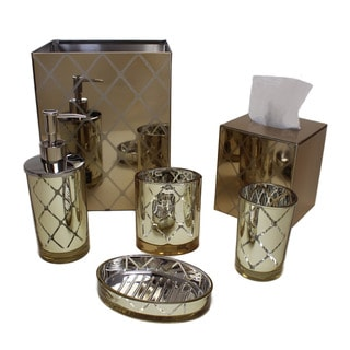 Sherry Kline Wellington Glass 6-piece Bath Accessory Set