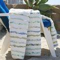 Jasmine Ruffled Cotton Throw