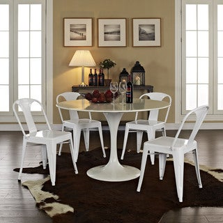Modern Reception Dining Chairs (Set of 4)