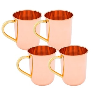 Old Dutch Straight Sided 14-ounce Moscow Mule Mug (Set of 4)
