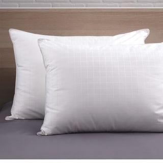 CozyClouds by DownLinens Plush Perfect Gel Fiber Pillow (Set of 2)