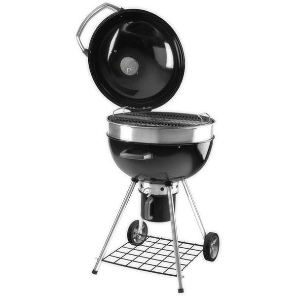 Napoleon Black Portable Charcoal Kettle Grill