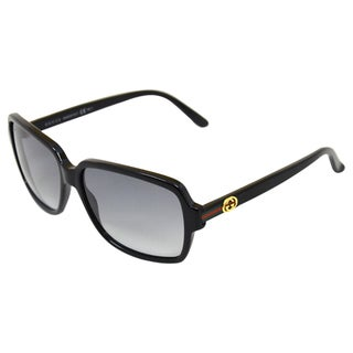 Gucci Women's GG 3583/S WRRCC Black Plastic Fashion Sunglasses