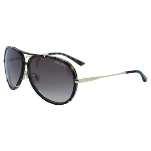 Jimmy Choo Women's Terrence/S 0NHOHA Light Havana Metal Fashion Sunglasses