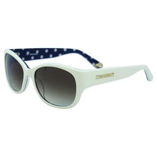 Juicy Couture Women's Juicy 551/S 0EG8Y6 Ivory Plastic Cat Eye Sunglasses