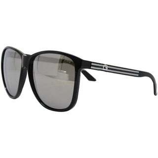 Gucci Unisex GG 1636/S D28 Black Plastic Fashion Sunglasses