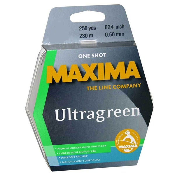 Maxima One Shot Spool Ultragreen 250 yds.