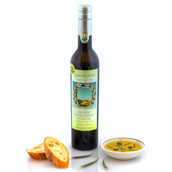Figueroa Farms Organic Estate Blend Extra Virgin Olive Oil