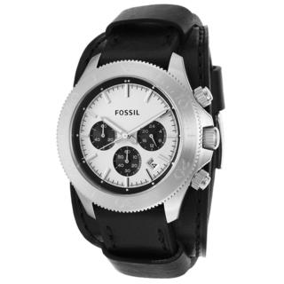 Fossil Men's CH2856 Retro Traveler Chronograph Black Leather Watch