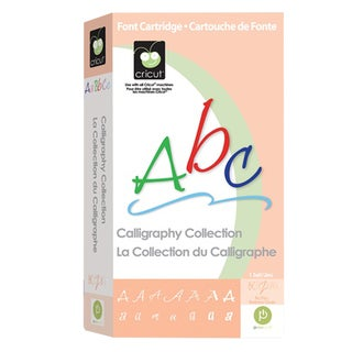 Cricut Calligraphy Collection Cartridge