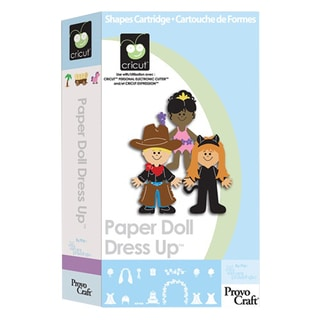Cricut Paper Doll Dress Up Cartridge