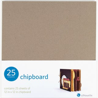 Silhouette 12 x 12 Chipboard 25-Pack.