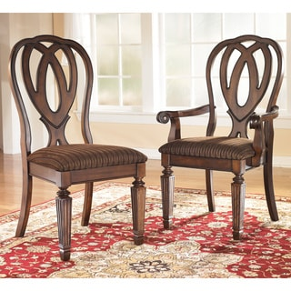 Signature Designs by Ashley Hamlyn Dining Arm Chairs (Set of 2)