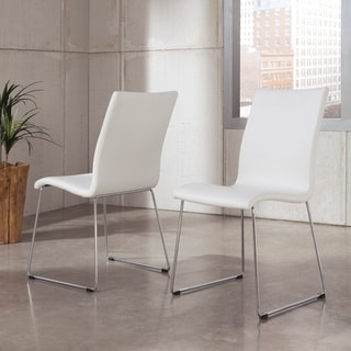 Signature Designs by Ashley White Upholstered Dining Side Chairs (Set of 2)