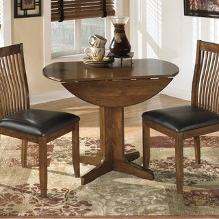 Signature Designs by Ashley Stuman Round Drop-leaf Table