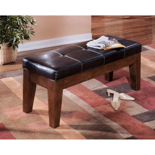 Signature Designs by Ashley Larchmont Dark Brown Dining Room Bench