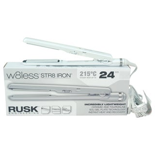 Rusk W8less Str8 Iron Ceramic and Tourmaline Flat Iron