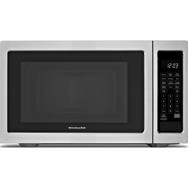 Stainless Steel Countertop Microwave For Sale : KitchenAid Stainless Steel 2.2 Cubic Feet Countertop Microwave ...