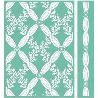 Cricut 5x7 Climbing Rose Embossing Folder