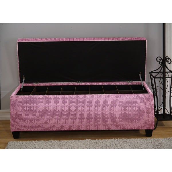 Sole Secret Pink Tower Shoe Storage Bench 13243678