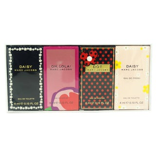 Marc Jacobs Variety by Marc Jacobs for Women - 4 Pc Mini Gift Set