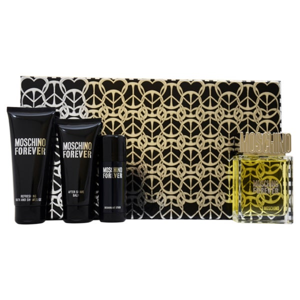 Moschino Forever Men's 4-piece Fragrance Set