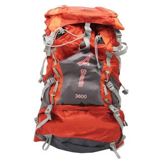 Alps Mountaineering 2373805 Orange 25x14x3-inch 4-pounds Shasta Backpack