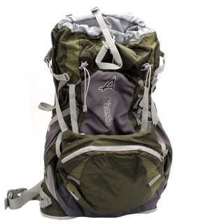 Alps Mountaineering 2473807 Green 27x13x3-inch 5-pounds Shasta Backpack