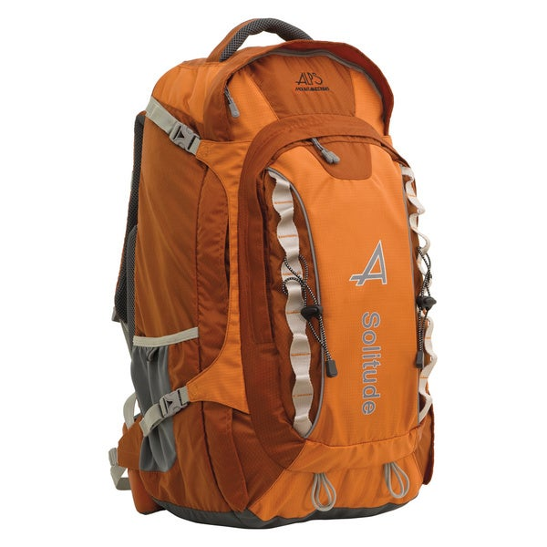 Alps Mountaineering 6643005 Orange 17x13x13-inch 8-pounds Solitude Backpack