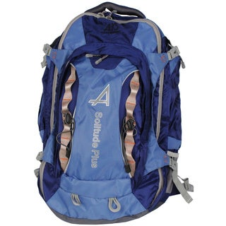 Alps Mountaineering 6746002 Blue 24x15x4-inch 3-pounds Solitude Backpack