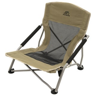 Alps Mountaineering 8013914 Khaki Polyester Steel 28x6x6-inch 7-pounds Folding Chair