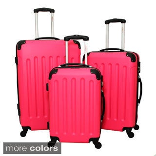 Dejuno Journey 3-piece Hardside Spinner Luggage Set